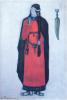 Рерих Н. К., Брангена, эскиз костюма (для оперы Зимина, 1912, не поставлено)